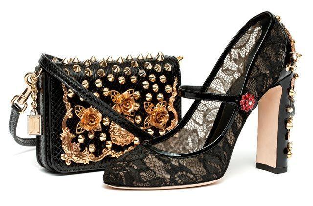 Influencia española en zapatos y bolsos de Dolce & Gabbana