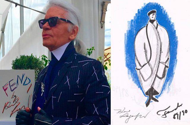 Fendi lanza libro para celebrar 50 años con Karl Lagerfeld