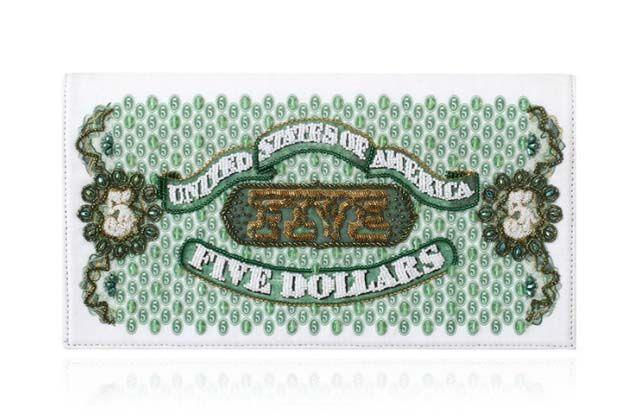 Bolsos con forma y diseño de billetes de 16 lugares del mundo