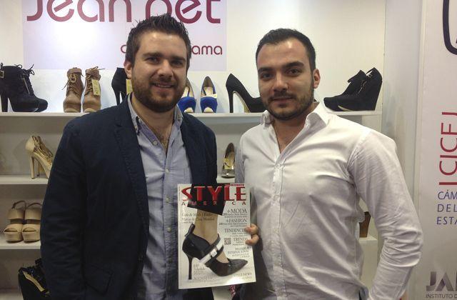 Tacones en calzado de moda de la marca mexicana Jean Pet