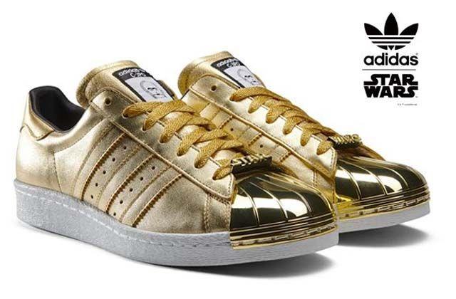 Zapatillas Adidas personalizables con temática Star Wars