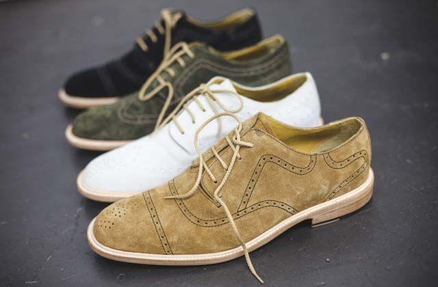 Colección de zapatos Oxford de Florsheim y Esquivel