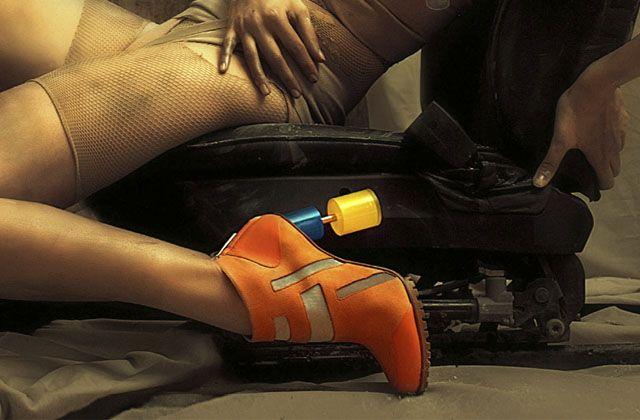 Diseños esculturales en zapatos de Gio Diev
