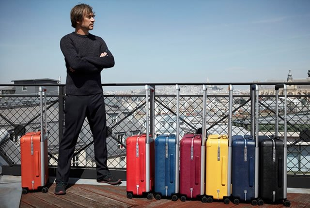 Nueva línea de equipaje Louis Vuitton creada por Marc Newson
