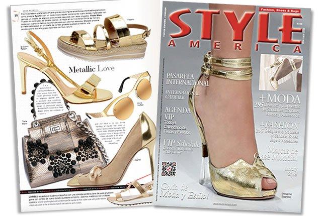 Tendencia de moda: Amor Metálico