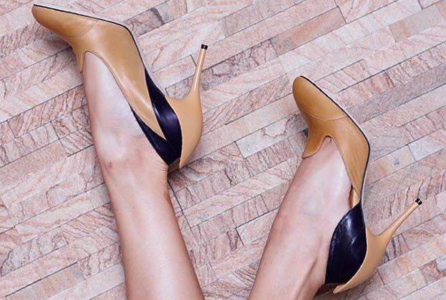 Zapatos inspirados en la flor de loto