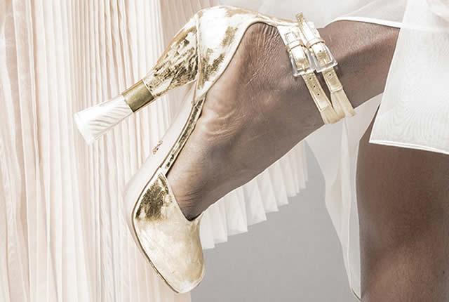 Tendencia y moda en esculturales zapatos de Ermanno Scervino