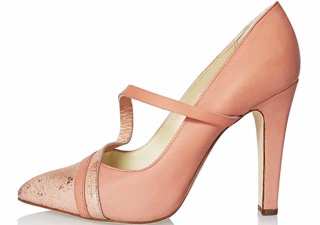 zapato Pink-semi-court-michael azu
