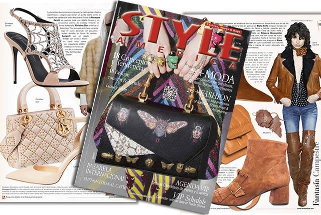 Edición 23 revista STYLE AMERICA Fashion, Shoes & Bags