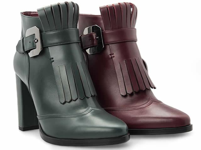 Estilo masculino andro-chic en zapatos Moreschi