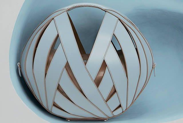 Arte y geometría en los bolsos de Perrin Paris