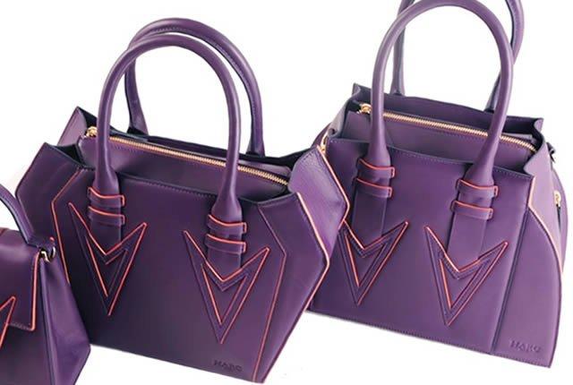 Diseños vanguardistas en los bolsos de Harc