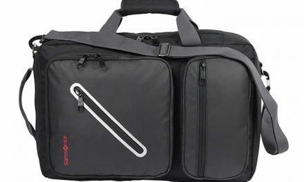 Diseño funcional en los maletines-morral de Samsonite