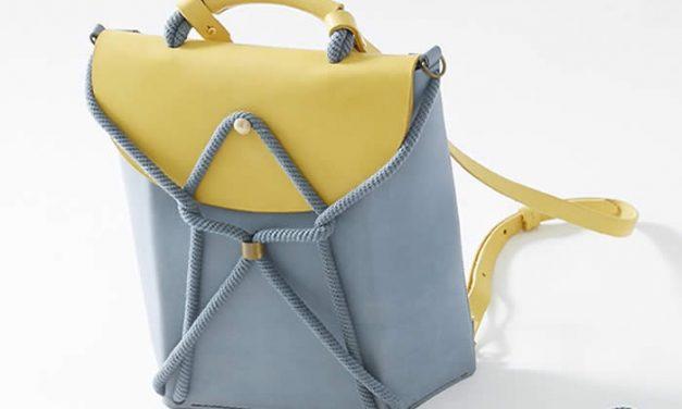Bolsos con estilo geométrico minimalista