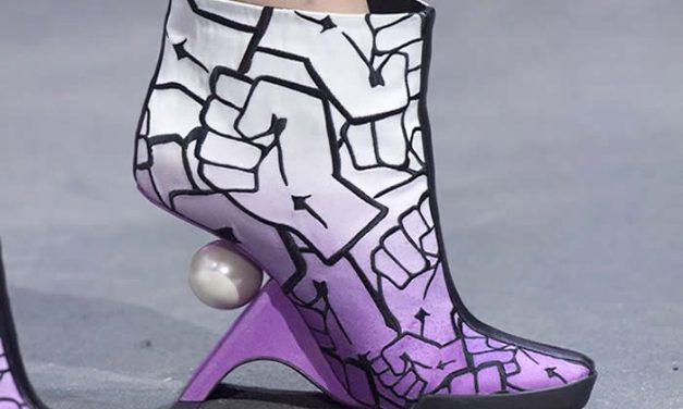 Zapatos de Nicholas Kirkwood inspirados en los hackers