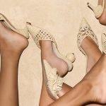 Artesanía y tacones kitten en los zapatos de Zyne