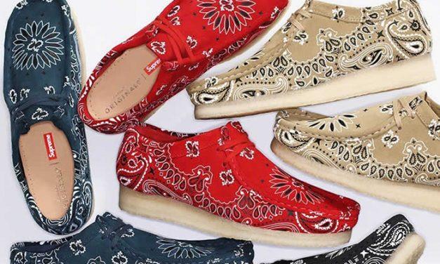 Wallabee colección de zapatos Supreme x Clarks