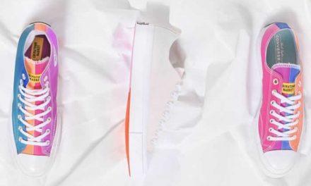 Zapatos que cambian de color con la luz del sol