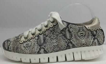 Estilo dinámico en los zapatos de Phlox
