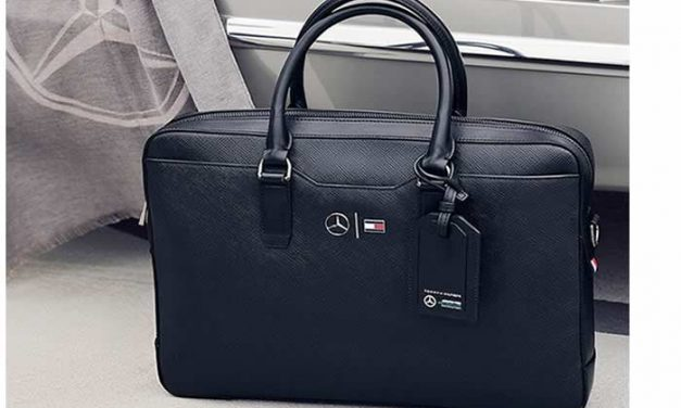 Colección de Zapatos y maletas TommyXMercedes-Benz
