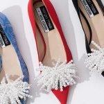 Colección de zapatos veganos Sergio Rossi + Rosie Assoulin