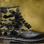 Edición especial de botas Dr Martens X Bape por 60 aniversario