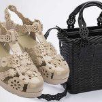 Colección exclusiva de zapatos y bolsos Melissa X Victor & Rolf