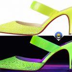 Zapatos y bolsos Christian Louboutin que brillan en la oscuridad