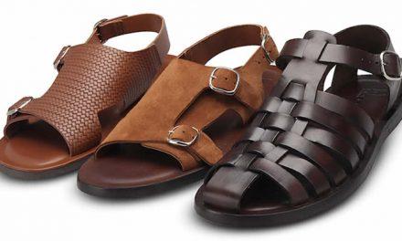 Nuevas sandalias masculinas Moreschi