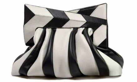 Geometría y sofisticación en bolsos de A.Rinkel