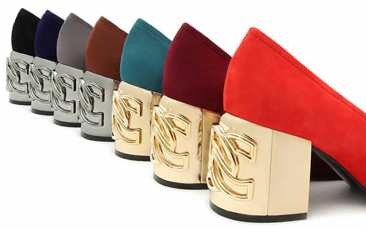 Colección C-Chain de Casadei, estilo en los tacones
