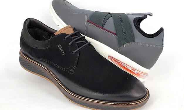 Moda masculina y confort en los zapatos Ferracini