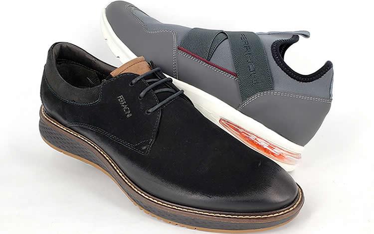 Moda masculina y confort en zapatos Ferracini