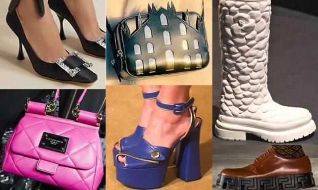 Tendencias de Zapatos y Bolsos Milan Fashion Week 2021