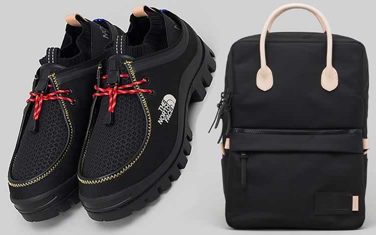 Colección de bolsos y zapatos The North Face X Hender Scheme