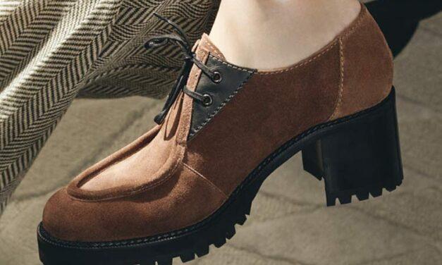 Colección de zapatos femeninos Mascaro Gentleman Style